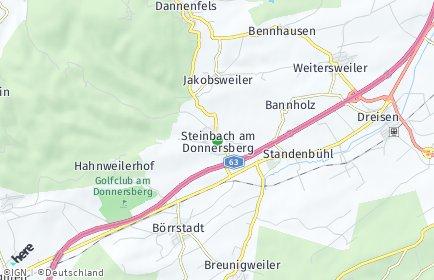 Stadtplan Steinbach am Donnersberg