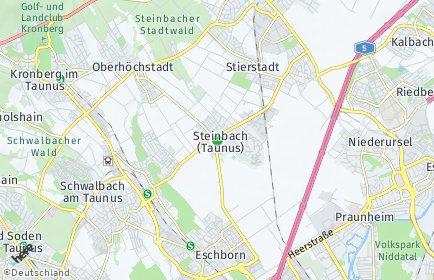 Stadtplan Steinbach (Taunus)