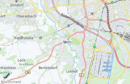 Stadtplan Stein (Mittelfranken)