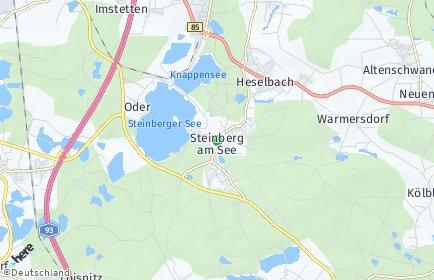 Stadtplan Steinberg am See