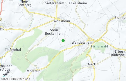 Stadtplan Stein-Bockenheim