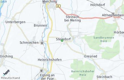Stadtplan Steindorf