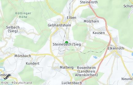 Stadtplan Steinebach (Sieg)