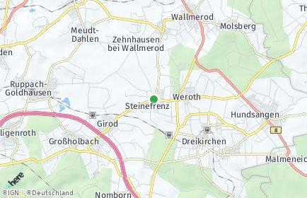 Stadtplan Steinefrenz