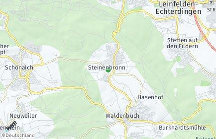 Stadtplan Steinenbronn