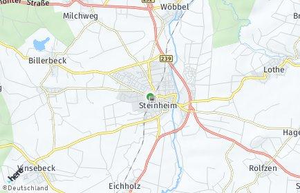 Stadtplan Steinheim