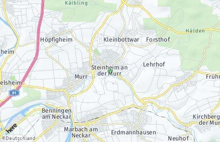 Stadtplan Steinheim an der Murr