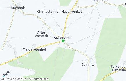 Stadtplan Steinhöfel