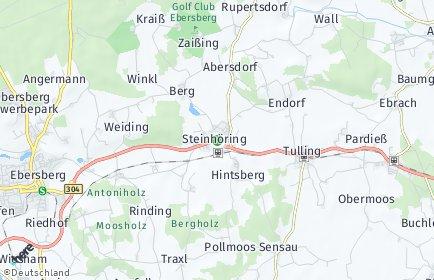 Stadtplan Steinhöring