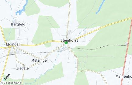 Stadtplan Steinhorst (Niedersachsen)