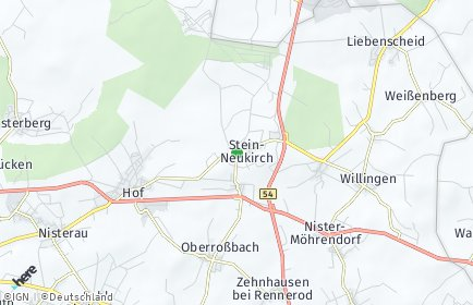 Stadtplan Stein-Neukirch