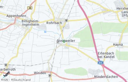 Stadtplan Steinweiler