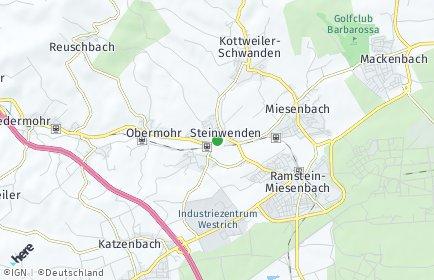 Stadtplan Steinwenden