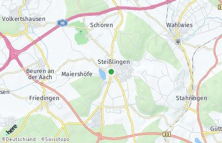 Stadtplan Steißlingen