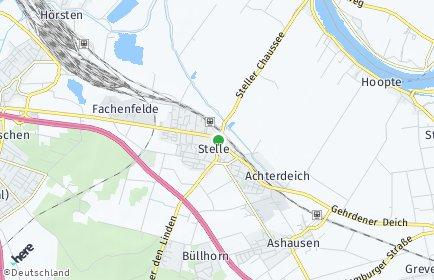 Stadtplan Stelle