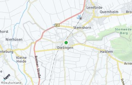 Stadtplan Stemwede