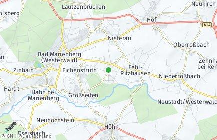 Stadtplan Stockhausen-Illfurth