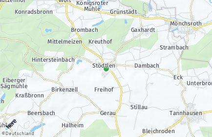 Stadtplan Stödtlen