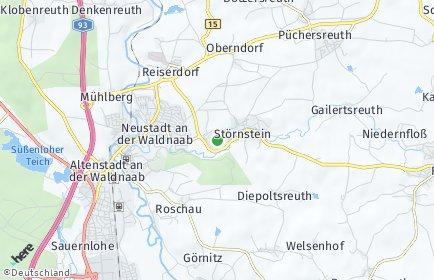 Stadtplan Störnstein