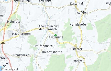 Stadtplan Stöttwang