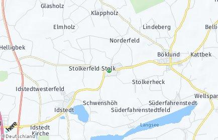 Stadtplan Stolk