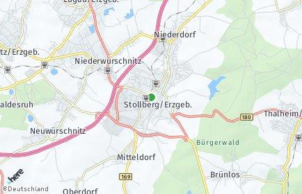 Stadtplan Stollberg/Erzgebirge