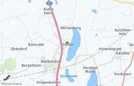 Stadtplan Stolpe (Holstein)