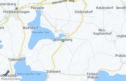 Stadtplan Stoltenberg