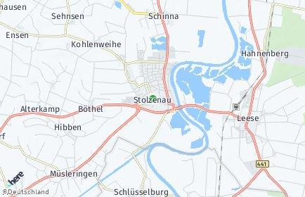 Stadtplan Stolzenau