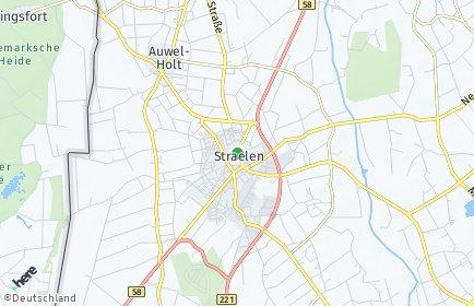 Stadtplan Straelen