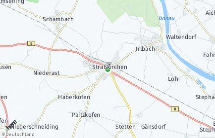 Stadtplan Straßkirchen