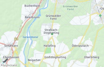 Stadtplan Straßlach-Dingharting