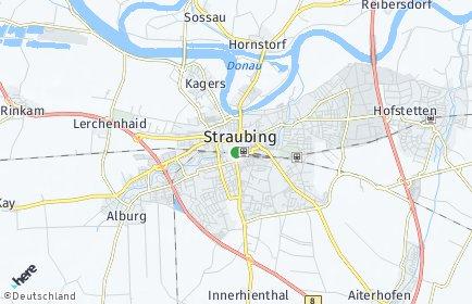 Stadtplan Straubing