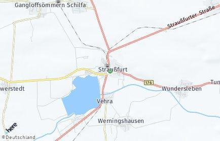 Stadtplan Straußfurt OT Henschleben