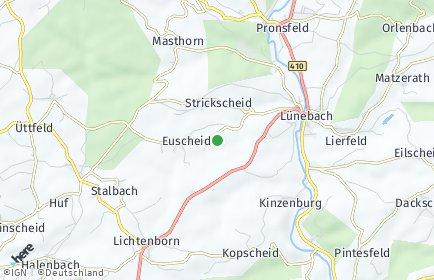 Stadtplan Strickscheid