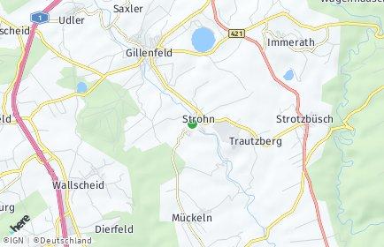Stadtplan Strohn