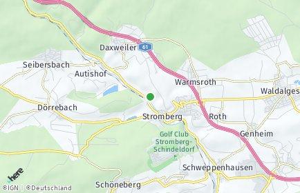 Stadtplan Stromberg