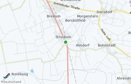 Stadtplan Struckum