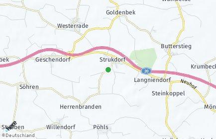 Stadtplan Strukdorf
