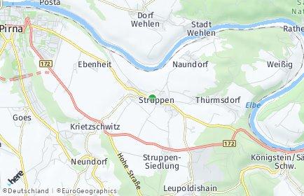 Stadtplan Struppen