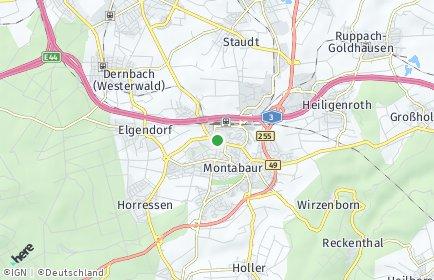Stadtplan Westerwaldkreis