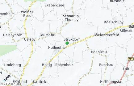 Stadtplan Struxdorf