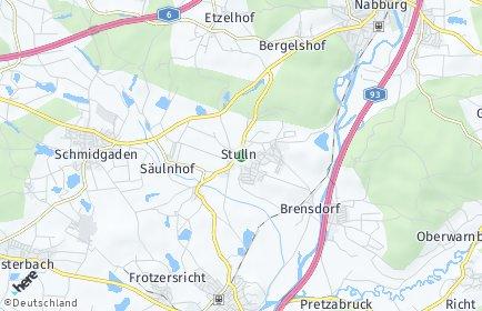 Stadtplan Stulln
