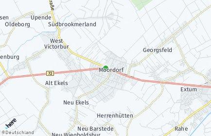 Stadtplan Südbrookmerland