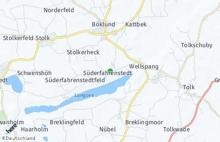 Stadtplan Süderfahrenstedt