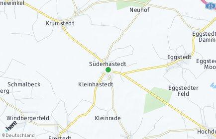 Stadtplan Süderhastedt