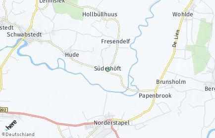 Stadtplan Süderhöft