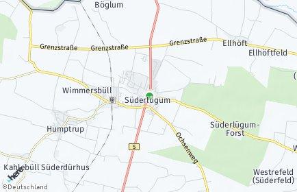 Stadtplan Süderlügum
