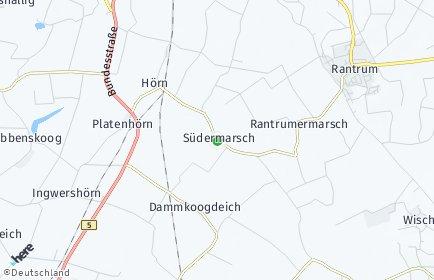Stadtplan Südermarsch