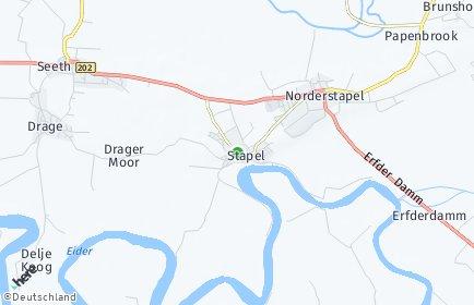 Stadtplan Stapel